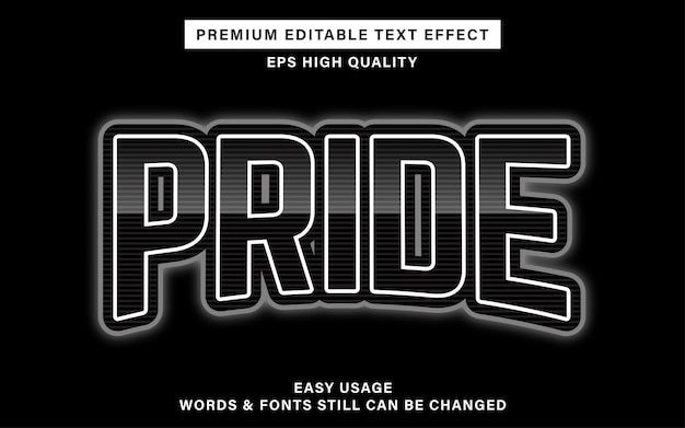 Esports pride text effect