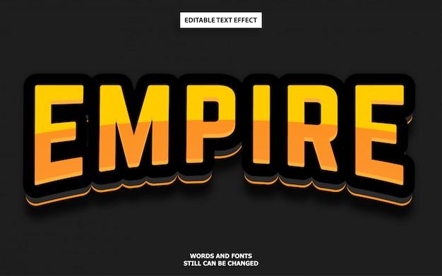 Esports логотип стиль редактируемый текстовый эффект