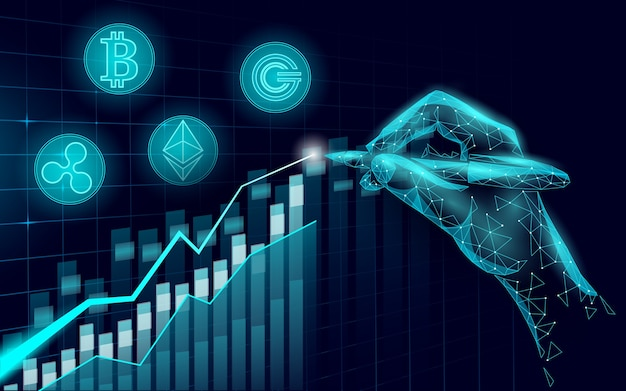Ethereum bitcoin ripple coin digital cryptocurrency growing profits