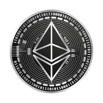 Ethereum vector coin