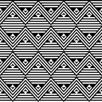 Ethnic african linear art seamless vector texture or striped background
