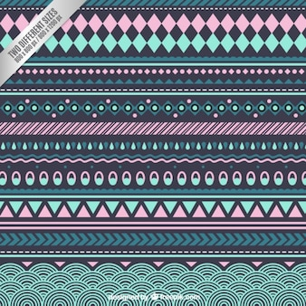 Ethnic background in pastel colors