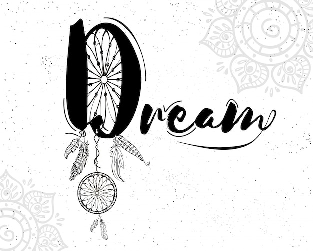 Этническое происхождение с dreamcatcher