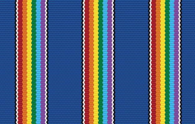 패브릭 스타일에 민족 블루 프라이드 기하학적 완벽 한 패턴입니다. 카펫, 벽지, 의류, 포장지, 바틱, 패브릭 디자인