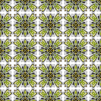Ethnic boho seamless pattern traditional ornament.