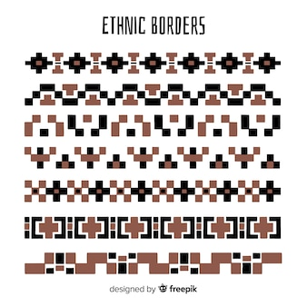 Ethnic border collection