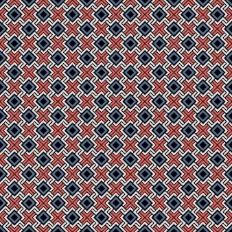 Ethnic color seamless geometric pattern