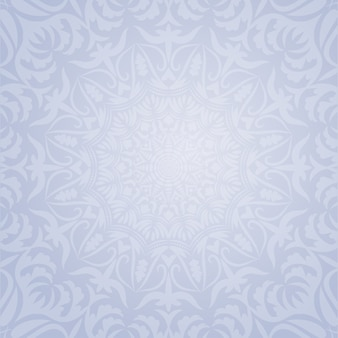 Ethnic decorative round element background