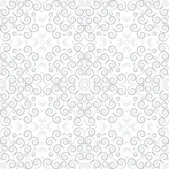 민족 꽃 장식 패턴