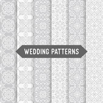 Ethnic floral wedding patterns