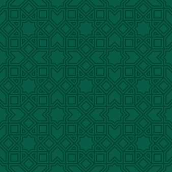 Ethnic line islamic seamless pattern
