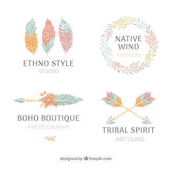 Ethnic logo collection