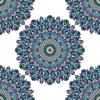 Ethnic mandala pattern