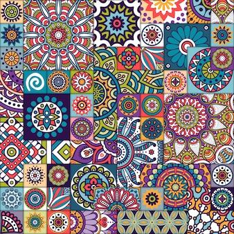 민족 만다라 패턴