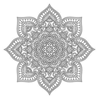 Ethnic mandala