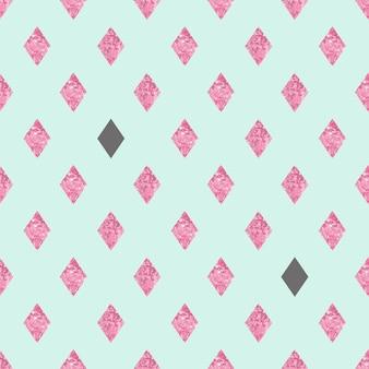 エスニックモチーフのスカンジスタイル。ベクトルのシームレスなパターン。