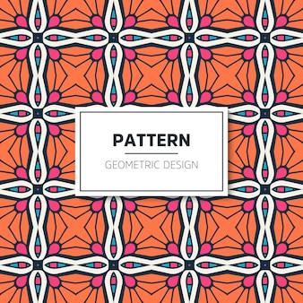 Ethnic motive seamless pattern