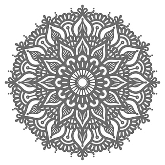 Ethnic and  oriental style mandala illustration for decoration