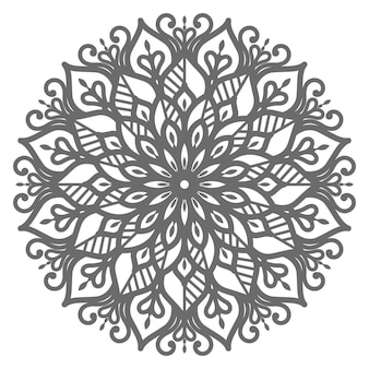 Ethnic oriental style mandala illustration for decoration