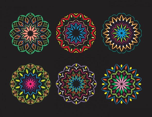 Ethnic ornamental mandala design