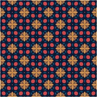 에스닉 패턴 디자인 미니멀리스트 스타일