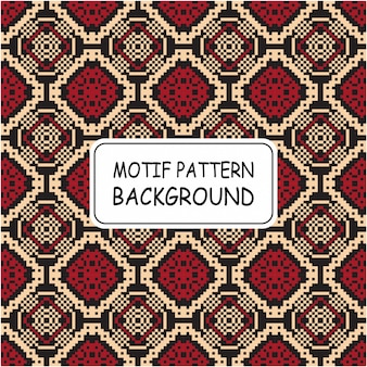 Ethnic pattern motif style