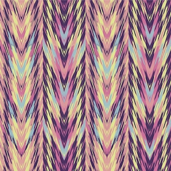 Ethnic pattern in pastel colors