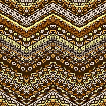 Ethnic pattern with zigzag lines