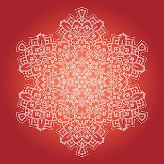 Ethnic psychedelic fractal mandala.