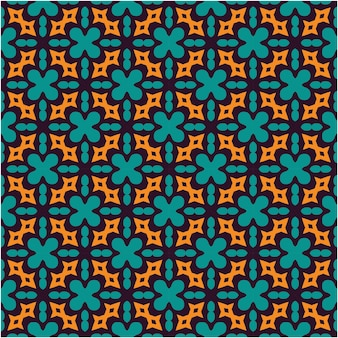 エスニックなシームレスパターンデザインのミニマリストスタイル