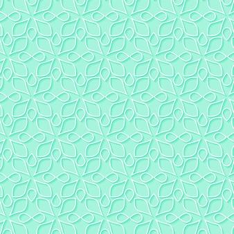 민족 스타일 장식 원활한 패턴