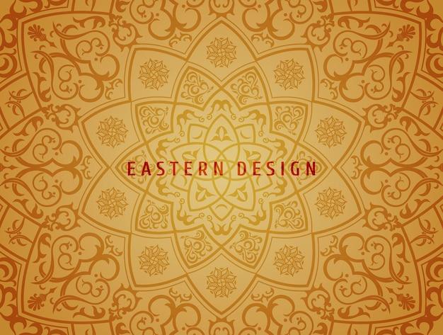 民族ベクトル背景曼荼羅デザインパターン