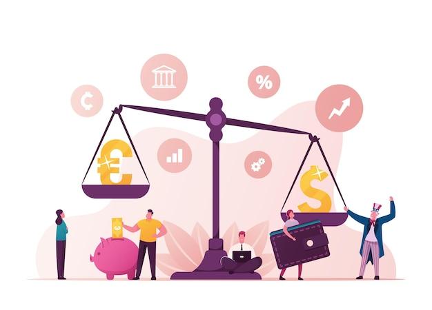 ユーロ対ドル。世界の欧米の経済と金融市場の対立。
