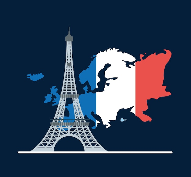 Europe monuent concept