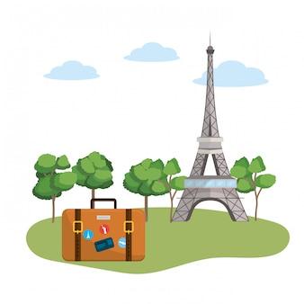 Europe travel monument