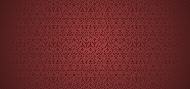 European pattern ornamental floral background