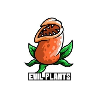 악 식물 녹색 냄비 정원 꽃 위험한
