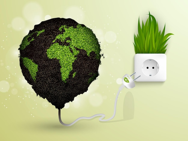 Evolution of the concept of greening of the world.
