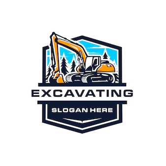 Excavating logo