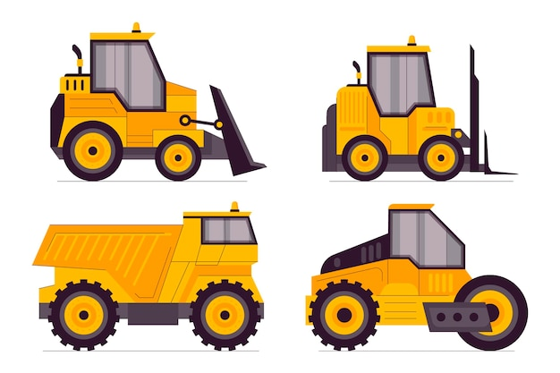 Excavator collection elements concept