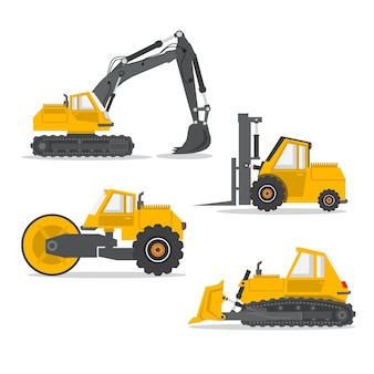 Excavator collection style
