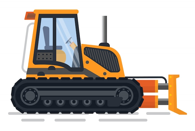 Excavator machinery for building and construction