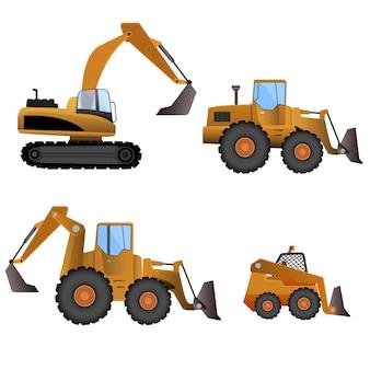 Excavator set