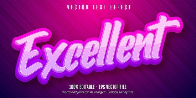 Отличный текст, редактируемый текстовый эффект в стиле каллиграфии