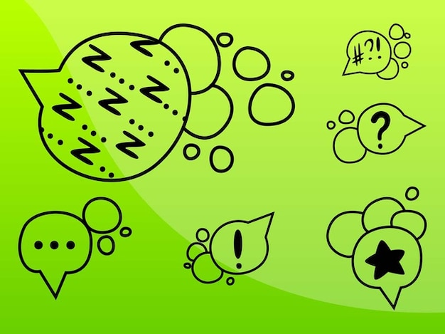 Exclamation and question marks comic book