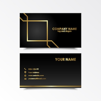 Exclusive business card design