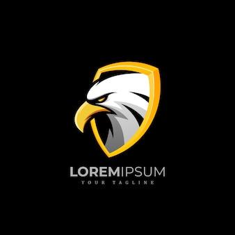 Exclusive eagle logo premium
