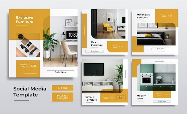Эксклюзивные шаблоны сообщений в социальных сетях о мебели