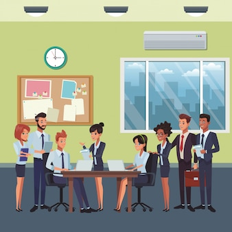 Мультфильм коллег по бизнесу