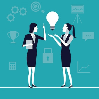 Исполнительные женщины в генерации идей роста бизнеса